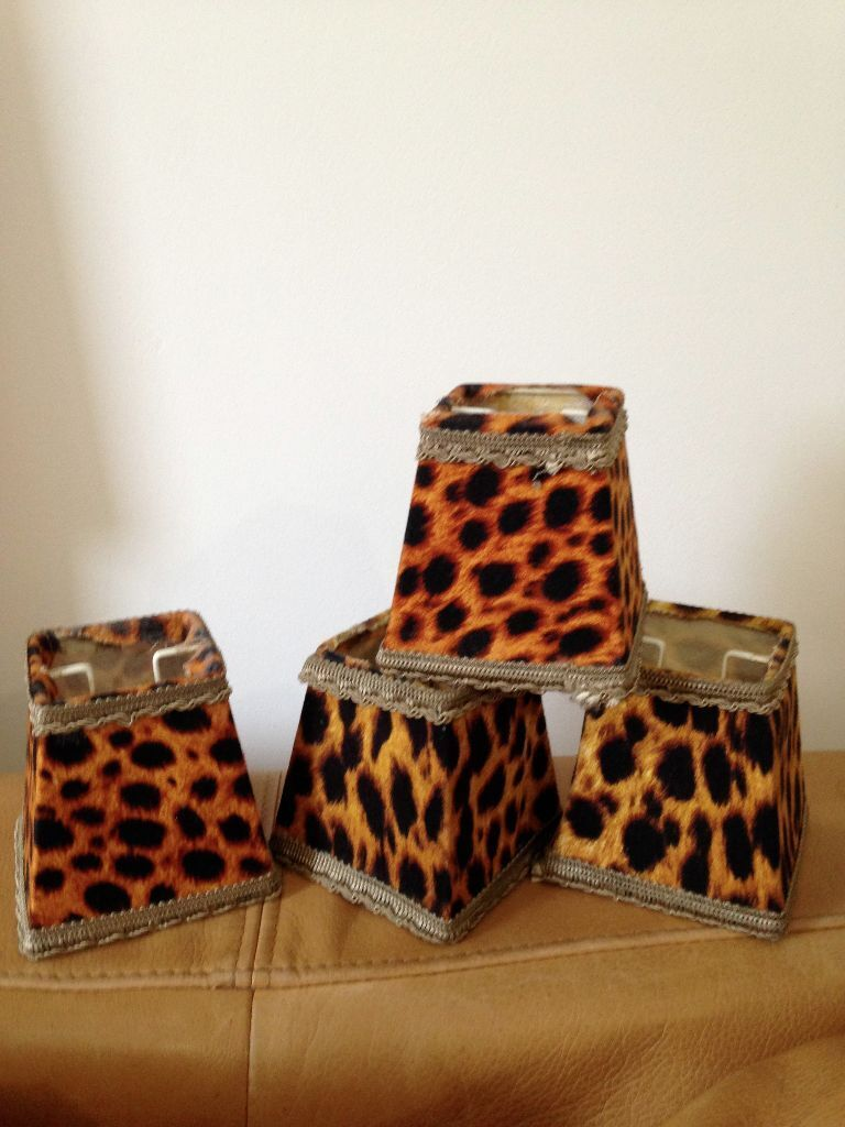 Sexy Leopard Print Lampshades For Chandelier Or Wall
