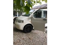 VW T5 tdi 2007 good condition new respray fully carpeted