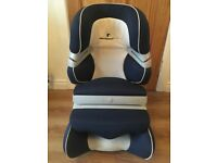 Child Car Seat by BMW Williams F1 - for toddler / young child - ISOFIX - Navy and White