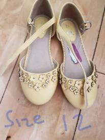 Girls size 12 shoes BNWT