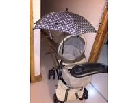 Mamas and Papa's mpx travel system and travel bed