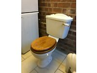 Qualitas toilet and hand basin set