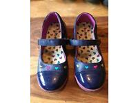 Girls Flat shoes. Made by George. Size 11