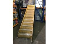 FREE!!! Wood staircase 13 steps