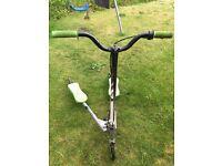 3 wheeler flickster scooter green