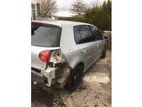 Vw golf gt tdi mk5 BREAKING FOR PARTS 2005-2008 call or text all parts