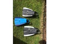 Body board flippers