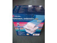 Rexel Personal Paper Shredder V25 New in Box £25 ONO