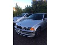 FOR SALE/PARTS: SILVER BMW 323 I SE 2000, 2.5L PETROL/MANUAL