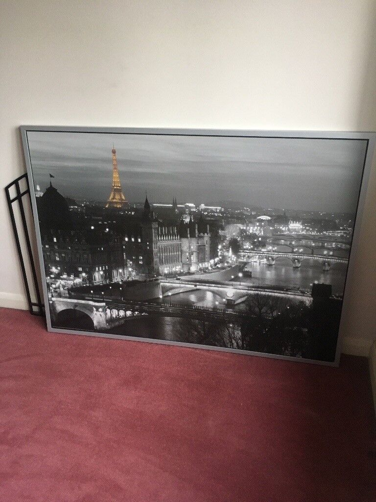 Cityscape Picture With Frame From Ikea In Nottingham Nottinghamshire Gumtree