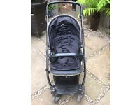 Oyster Max Double Buggy/Pram - Black