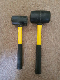 2x Rubber Mallets