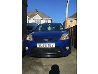 Royal blue Ford Fiesta. £1950 ONO. Age related marks but wellLooked after.
