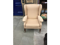 Ladies Wingback Chair - In good condition - Free local delivery.