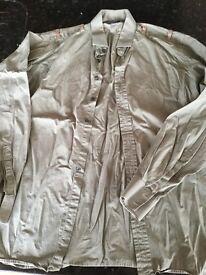 Genuine Burberry Shirt size L.