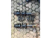 Vauxhall Corsa c lowering springs (cut)