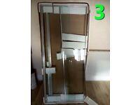 For dynamo Shower (164cm x 93.5cm x 80cm) (Brand new)