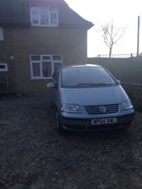 VW SHARAN 7 SEATER 1.9 SL 115 BHP TDI Metallic Grey 2004