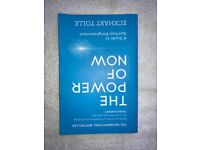 THE POWER OF NOW by Eckhart Tolle 191 pages MOTIVATION BUSINESS POSITIVITY BOOK