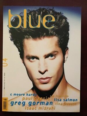 (not only) Blue Magazine #04, May 1996, As NEW, Not Pre-Owned, Early Issue, HOT