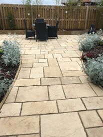 Paving slabs for sale surplus from new patio