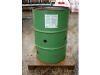 OIL DRUM GARDEN INCINERATOR / WASTE BURNER.