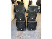Alto Sound System powered