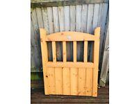 Brand New Oak Finish Garden Gate