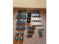 Gym Weights, Bench, Squat Stand, Barbells, Dumbells etc....