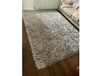 Silver Dunelm rug