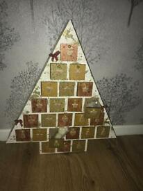 Wax melts Advent Christmas tree