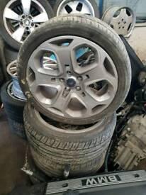 Ford Mondeo titanium x 18 inch alloy wheels Focus ST 2008 full