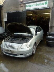2004 toyota avensis 2.0 d4d breaking for parts