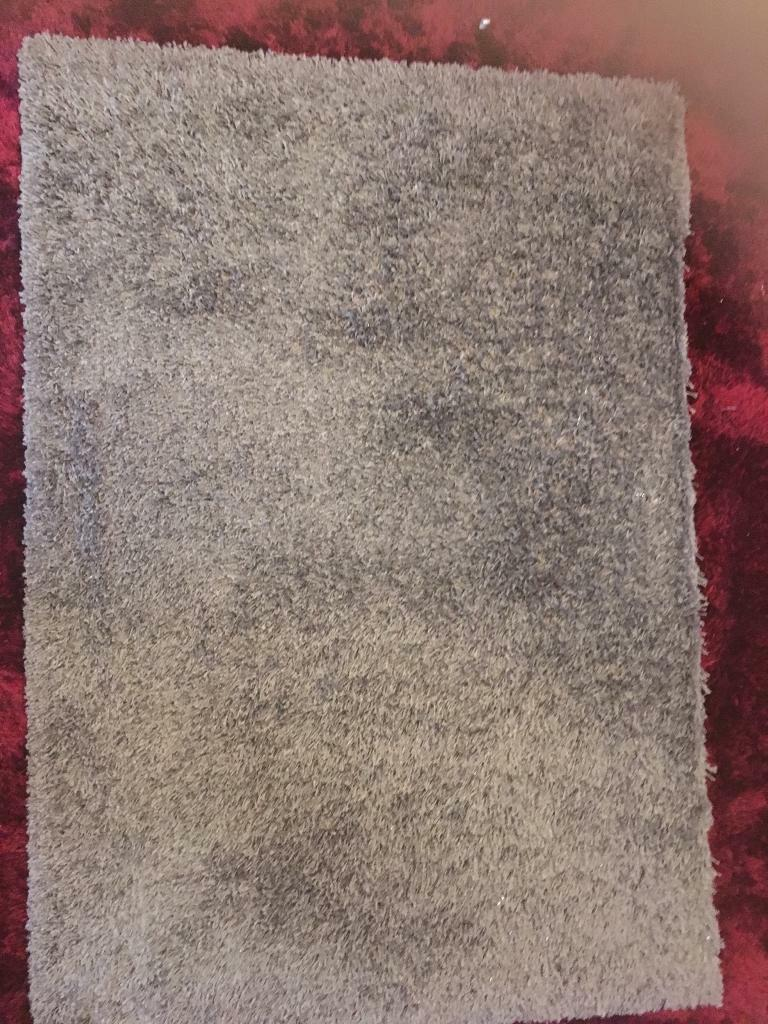 Next Silver Grey Rug 120x170cmd In Croydon London