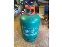 Patio gas cylinder empty