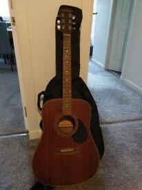 Freshman FA150 dreadnought Mahogonay Acoustic Guitar