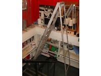 8 Feet Tall Metal Steps Step Ladder