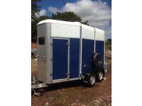 Ifor williams 505 horse trailer, blue, 2004