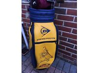 Golf bag match play , sold subject to collection