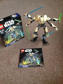 Star Wars Lego Buildable Figures x 6