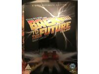 Back to the Future DVD Steelbook Trilogy