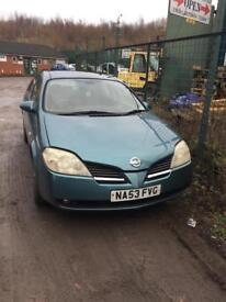 Nissan primera 2003 breaking for spares replacement parts