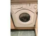 Hotpoint bwd129 integrated washer/dryer