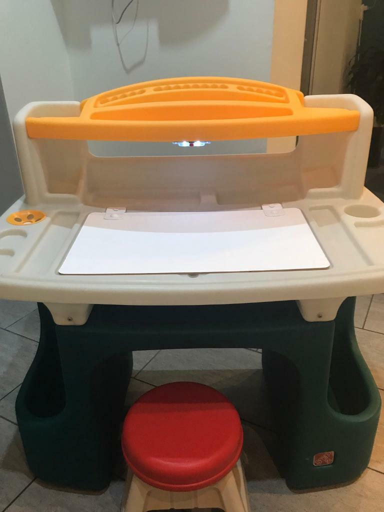 Step 2 Children S Desk And Stool Reduced To 25 In Gosforth Tyne
