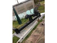 Tow bar for VW Passat B4 Saloon 1997 onwards with tow ball and cover