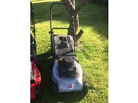 Ransomes mountfield petrol lawnmower
