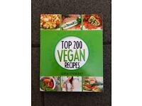 Top 200 Vegan Recipes: Cookbook - (Healthy Vegan) by Jamie Stewart [Paperback]