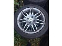 """Tsr 15"""" alloy wheels 4x100"""