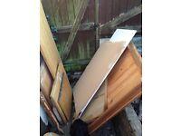 Free wood surfaces plasterboard etc