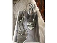 Silver dimonte sandals
